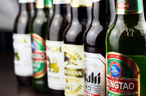 Asian beers available for delivery to Kings Cross