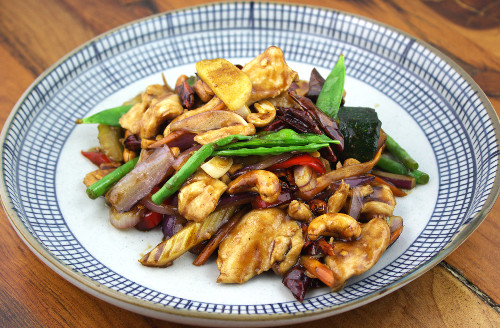 Szechuan Fired Chilli Chicken delivered to Alexandra Palace